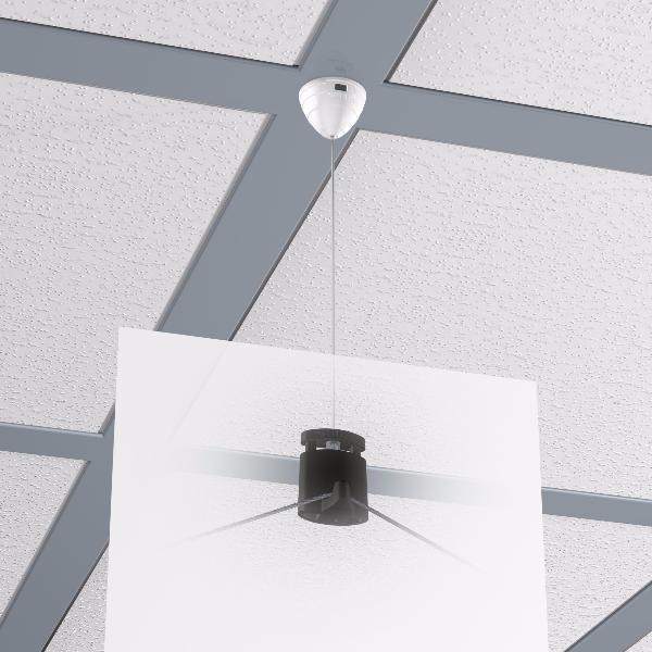 Attaches magn tiques faux plafond cornieres artiteq for Materiel pour faux plafond