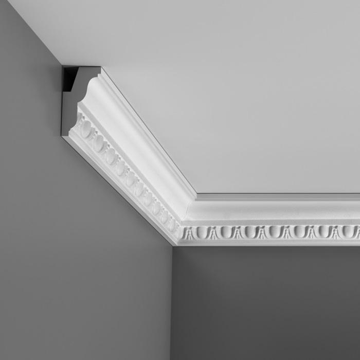 Corniche moulure de plafond luxxus orac decor pour deco rail c212 - Corniche de plafond polyurethane ...
