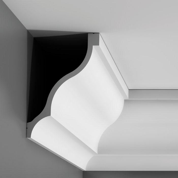 Corniche moulure de plafond luxxus orac decor pour deco rail c337 - Corniche plafond polyurethane ...