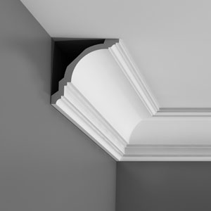 CX106 Corniche plafond Orac Decor Axxent - 12x12cm (h x p) - moulure décorative