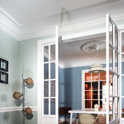 moulure cimaise de plafond luxxus orac decor pour deco rail p8050. Black Bedroom Furniture Sets. Home Design Ideas