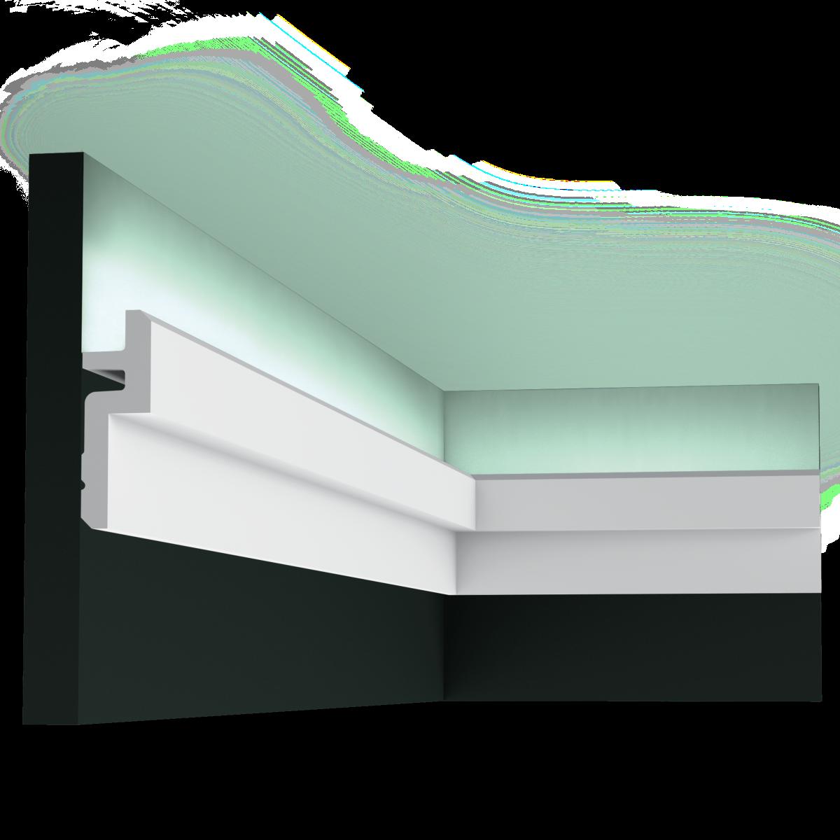 corniche moderne multifonction clairage et corniche plafond c394 orac decor magasin paris. Black Bedroom Furniture Sets. Home Design Ideas