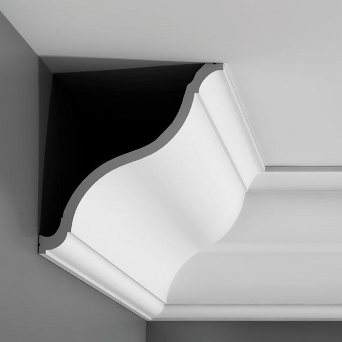 Corniche moulure de plafond luxxus orac decor pour deco for Corniche plafond polystyrene