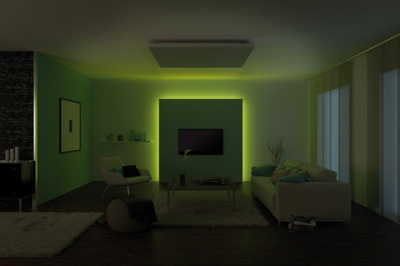 kit bandeau led maxled rgb corniche clairage indirect. Black Bedroom Furniture Sets. Home Design Ideas