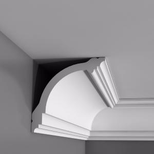 CB512 Carton de 28 m de Corniches plafond Orac Decor Basixx  - 10x10cm (h x p) - moulure décorative