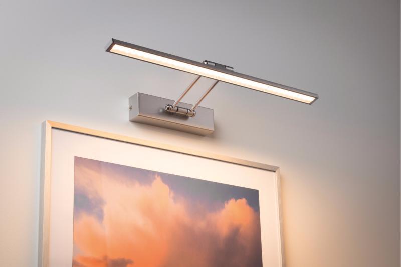 eclairage tableau applique tableau led beam fifty 7w paulmann. Black Bedroom Furniture Sets. Home Design Ideas