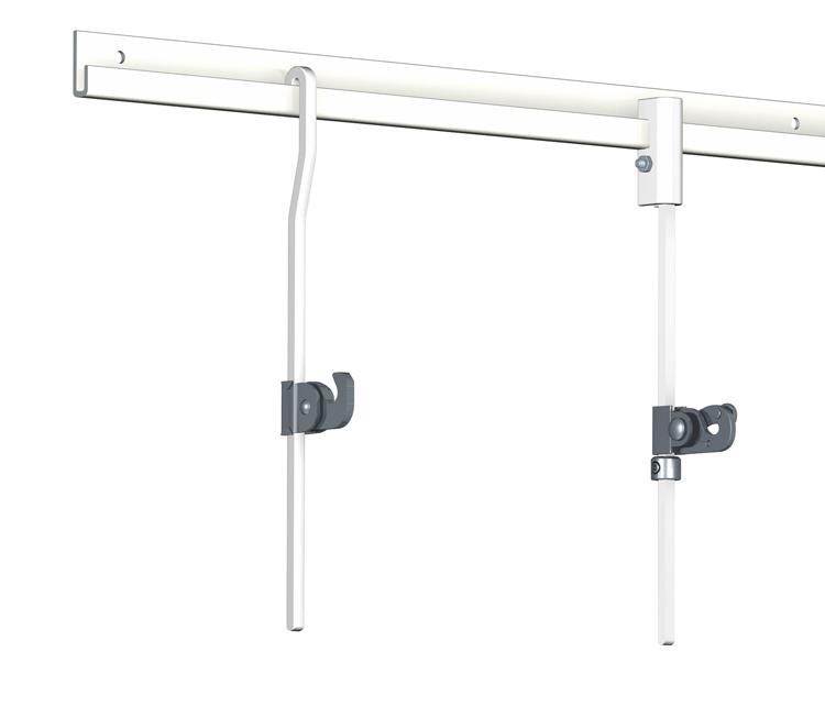 Rail cimaise classic artiteq pour tableau lourd - Systeme accroche tableau ...