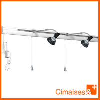 Cimaise Box Combi Rail PREMIUM - Pack accrochage tableau
