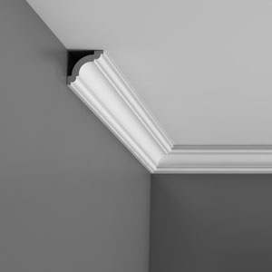 CX124 Corniche plafond Orac Decor Axxent - 5x5cm (h x p) - moulure décorative