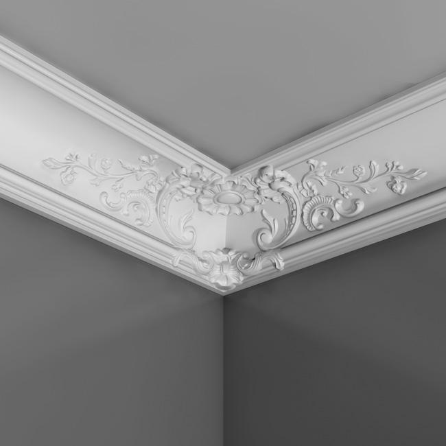 Corniche murale décorative plafond luxxus Orac decor C338B moulure ...