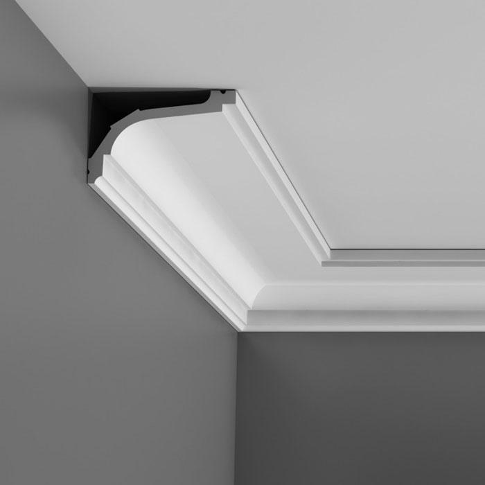 Corniche moulure de plafond luxxus orac decor pour deco - Moulure et corniche de plafond ...