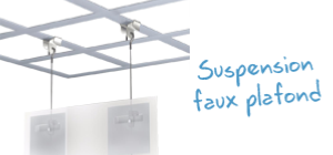 Suspension Faux Plafond