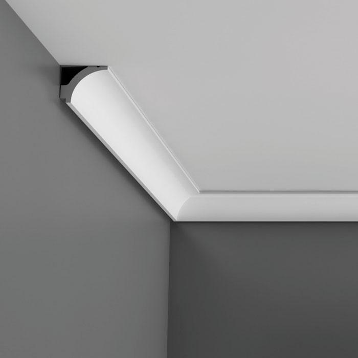 moulure pour plafond décorative fine et discrète - orac decor luxxus