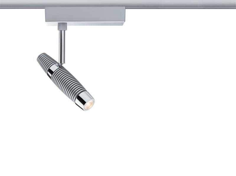 Eclairage tableau eclairage sur rail plafond led spot channel ii 8 2w paulmann - Eclairage tableau led ...