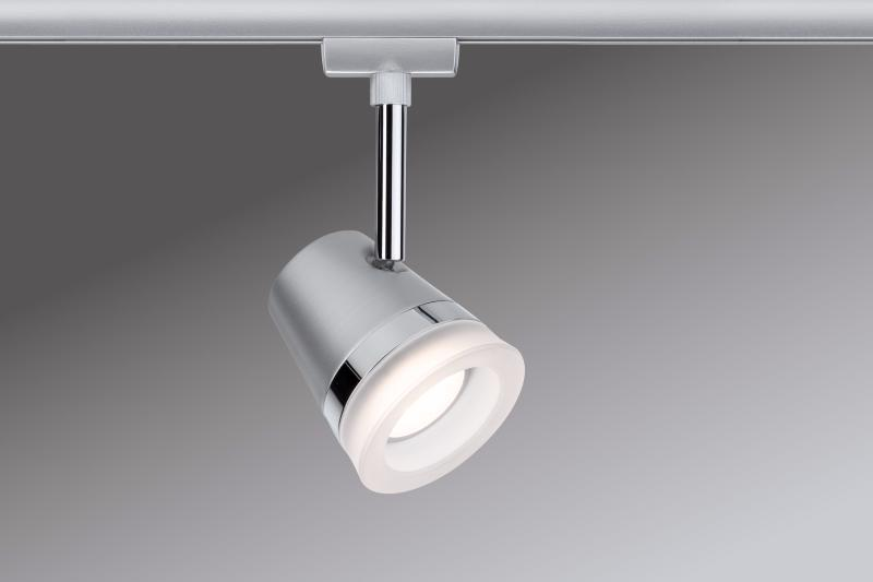 eclairage tableau eclairage sur rail plafond led spot cone 6 5w paulmann