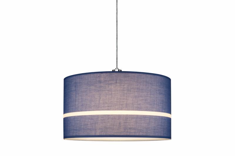 accessoire clairage tableau eclairage sur rail plafond abat jour tessa bleu paulmann. Black Bedroom Furniture Sets. Home Design Ideas