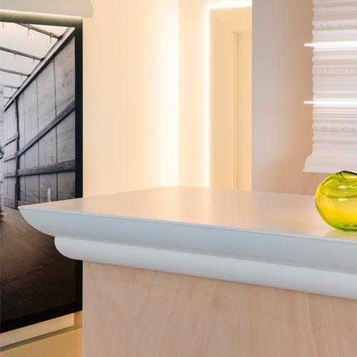 Corniche moulure de plafond luxxus orac decor pour deco rail c370 - Corniche de plafond polyurethane ...