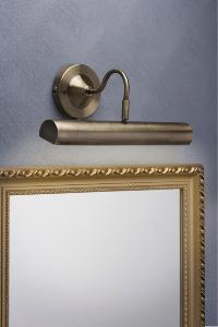 eclairage tableau applique lampe canno laiton patin 3w paulmann. Black Bedroom Furniture Sets. Home Design Ideas