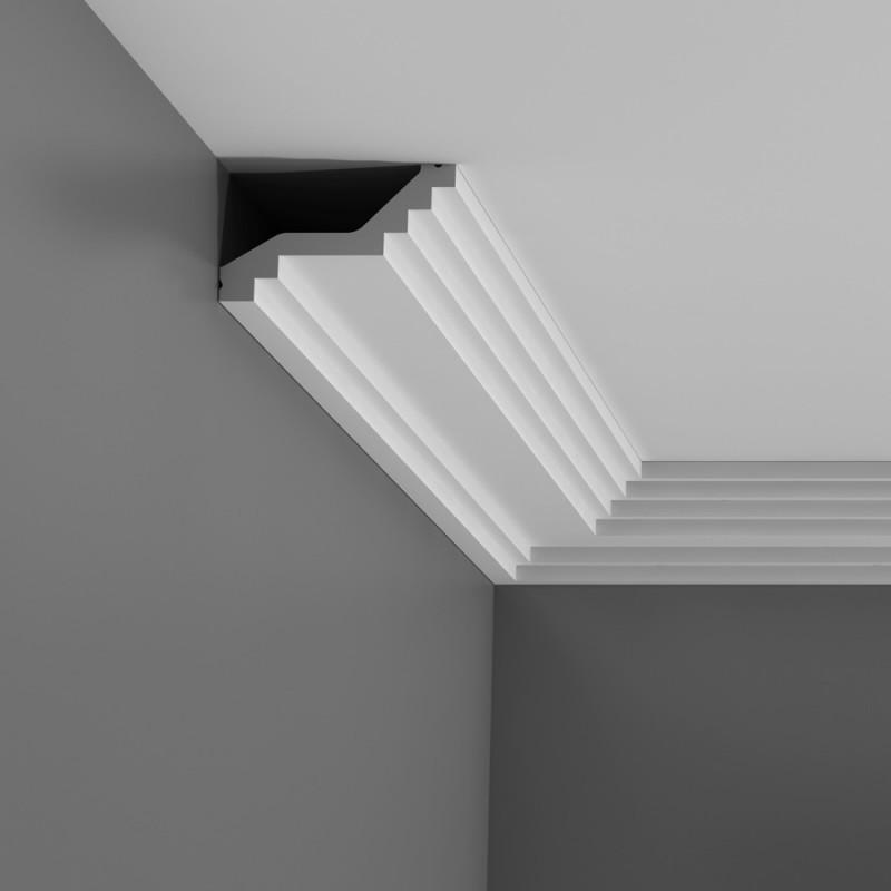 corniches d coratives de plafond moulure effet pl tre. Black Bedroom Furniture Sets. Home Design Ideas