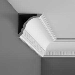 CX107 Corniche plafond Orac Decor Axxent - 12x12x200cm (h x p x L) - moulure décorative