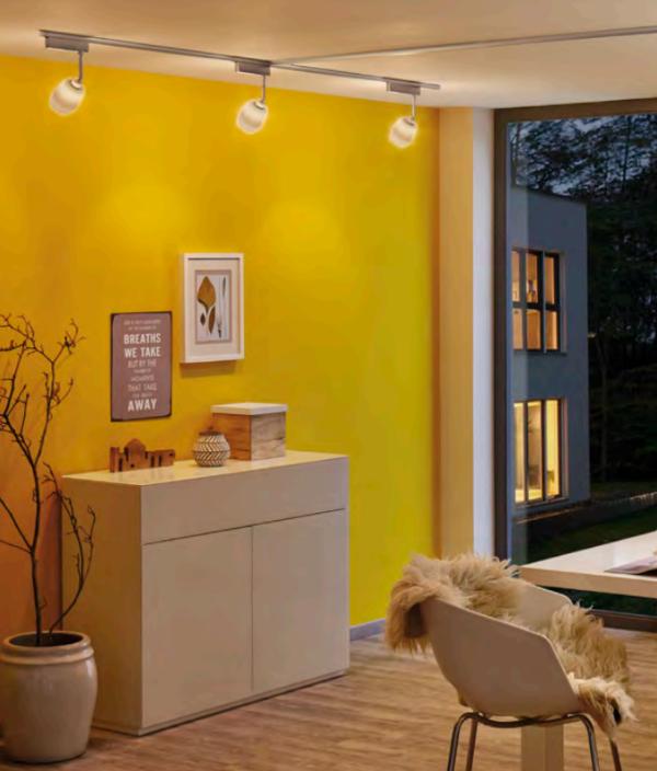 spots d 39 clairage sur rail paulmann lumi re d 39 ambiance. Black Bedroom Furniture Sets. Home Design Ideas