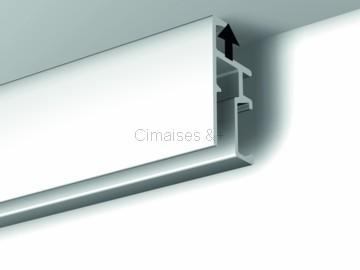 pack rails cimaises click 200cm artiteq. Black Bedroom Furniture Sets. Home Design Ideas