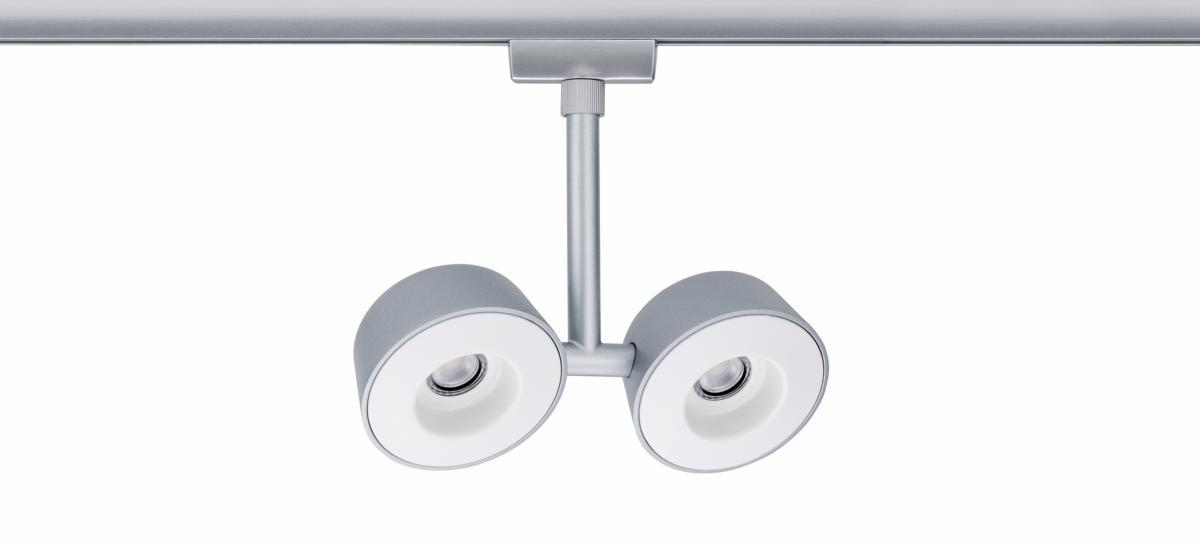 eclairage tableau eclairage sur rail plafond halog ne spot double pellet. Black Bedroom Furniture Sets. Home Design Ideas