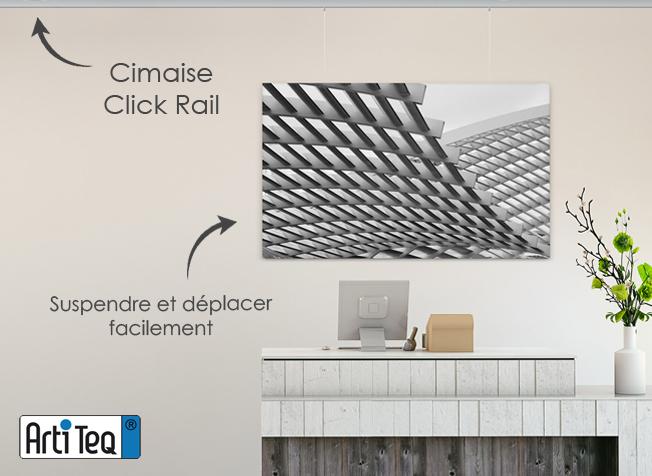 cimaises accrochage tableau par cimaise corniche. Black Bedroom Furniture Sets. Home Design Ideas