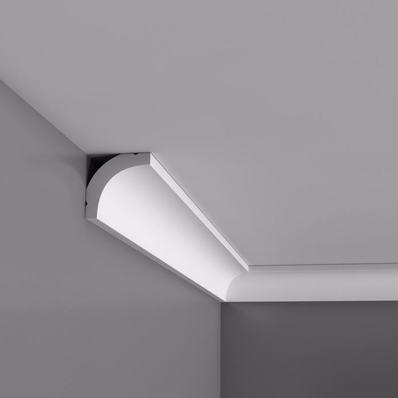 Corniche moulure de plafond basixx orac decor carton for Decoupe corniche angle