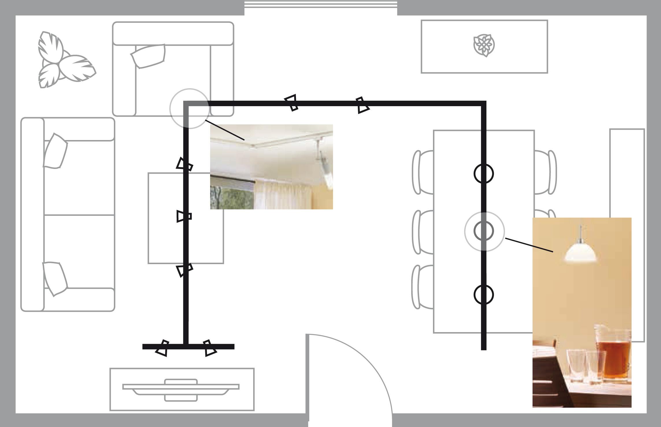 eclairage tableau eclairage sur rail plafond connecteur d alimentation paulmann