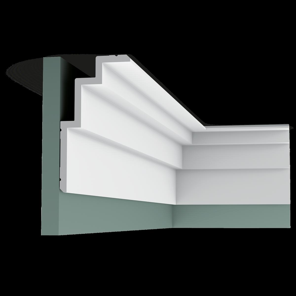 Corniche Polystyrène Pour Led construction moulure cimaise corniche profil orac decor