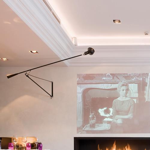 Corniche d corative effet pl tre moulure plafond luxxus for Cornice adesiva per pareti