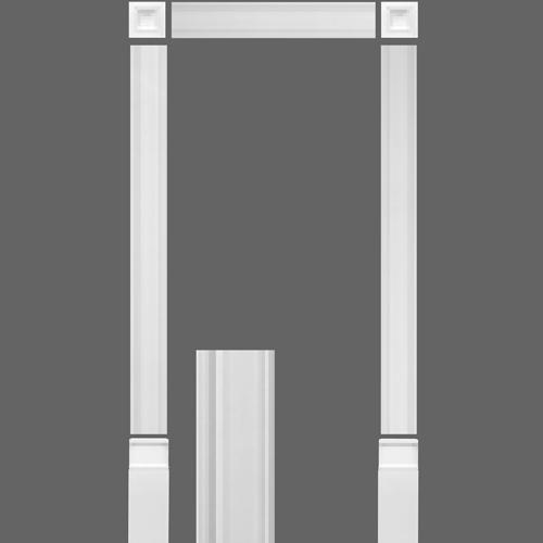 kit encadrement de porte orac decor kx003. Black Bedroom Furniture Sets. Home Design Ideas