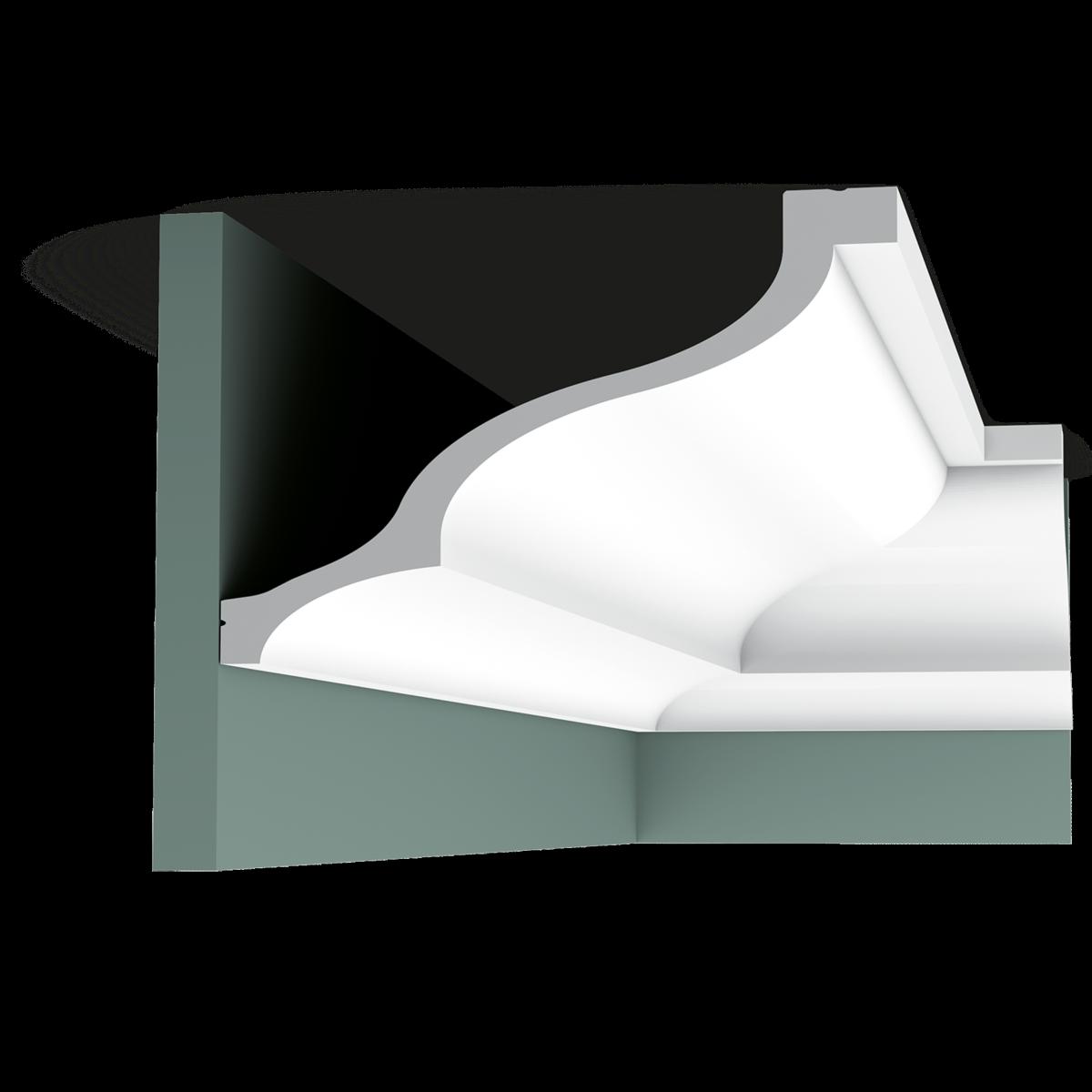 corniche moulure d corative mur et plafond luxxus orac. Black Bedroom Furniture Sets. Home Design Ideas