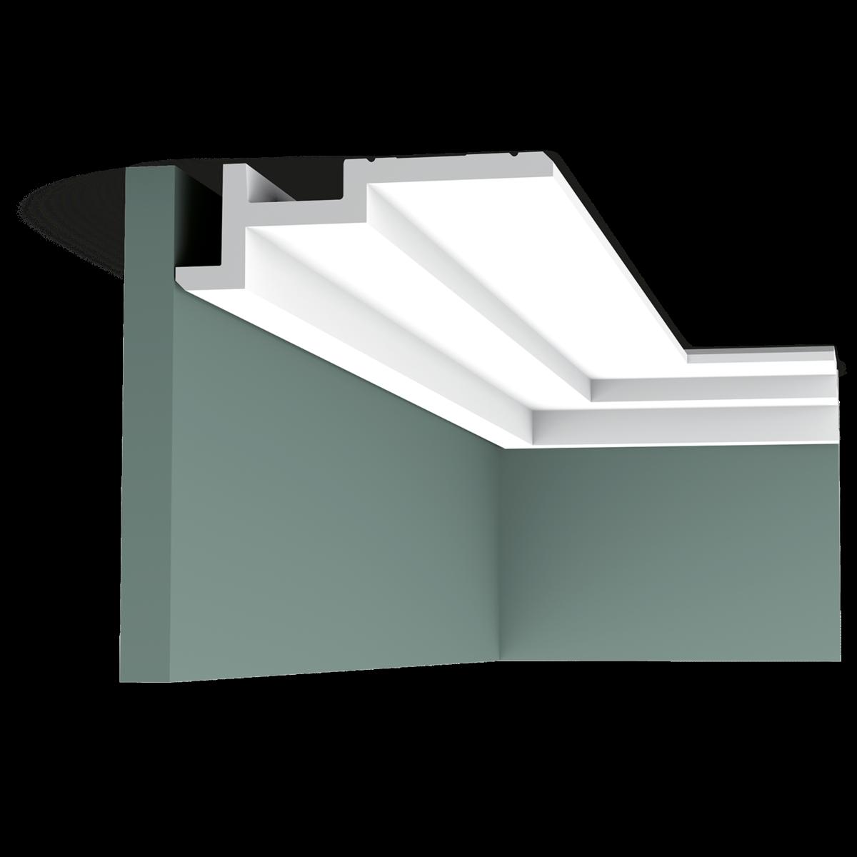 corniche clairage plafond led murale c396 orac decor magasin paris. Black Bedroom Furniture Sets. Home Design Ideas