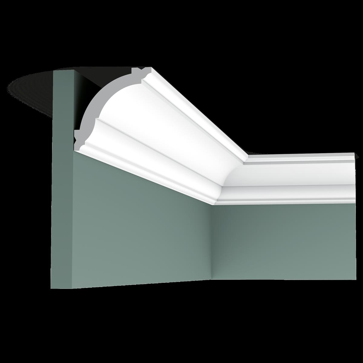 Cx100 Corniche Plafond Orac Decor Axxent 7x7x200cm H X P X L Moulure Décorative
