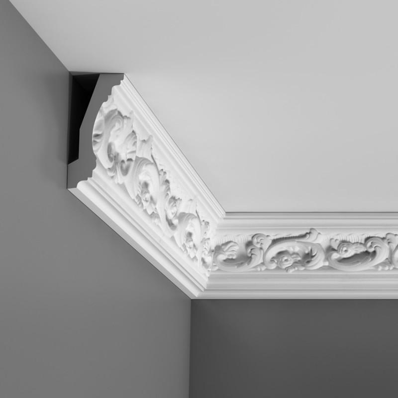 Corniche de plafond d corative avec motifs moulure orac for Greche adesive da muro