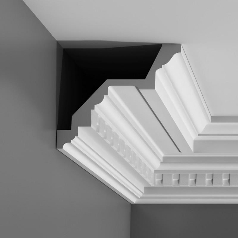 Moulure Plafond Platre corniche effet plâtre moulures décoratives de plafond luxxus orac