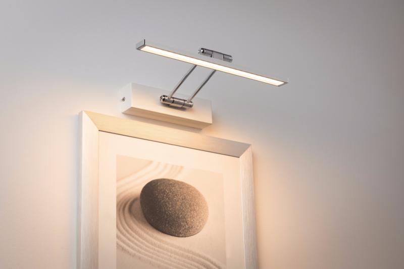eclairage tableau applique tableau led beam thirty 5w paulmann. Black Bedroom Furniture Sets. Home Design Ideas