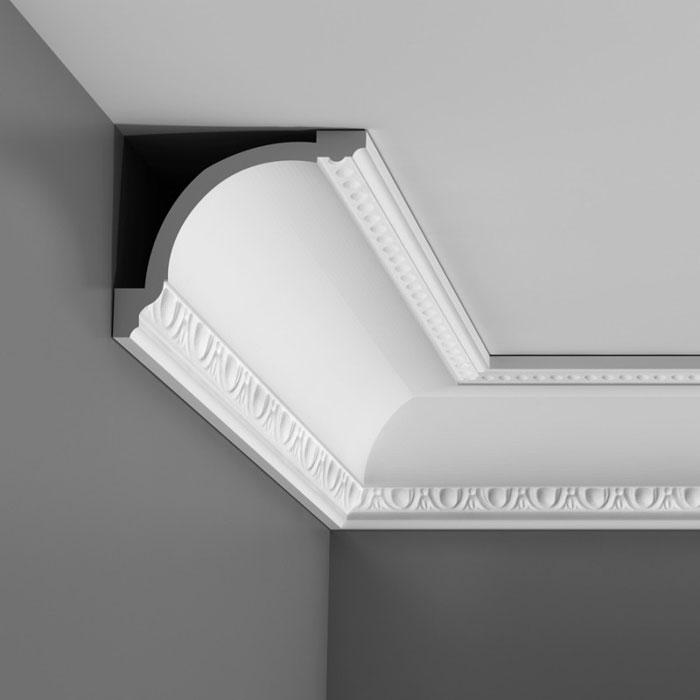 corniche moulure de plafond luxxus orac decor pour deco rail c216. Black Bedroom Furniture Sets. Home Design Ideas