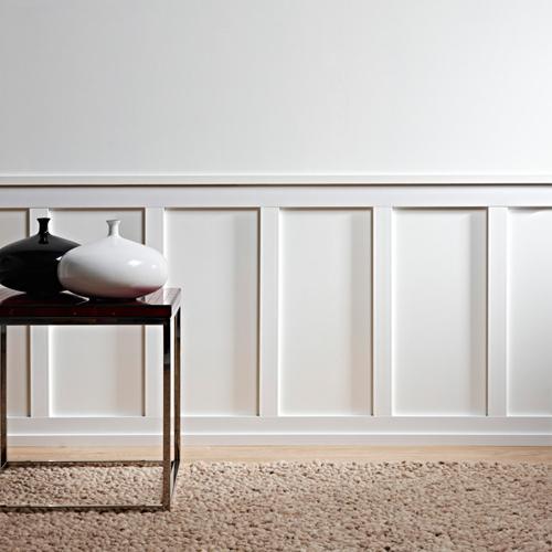 Cimaise Bois Decorative : comme plinthe, corniche, cimaise et m?me en encadrement de porte