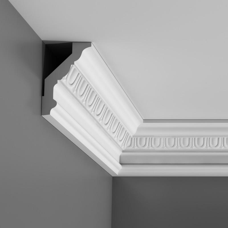 Corniche moulure de plafond luxxusorac decor pour deco rail c302 - Corniche de plafond polyurethane ...