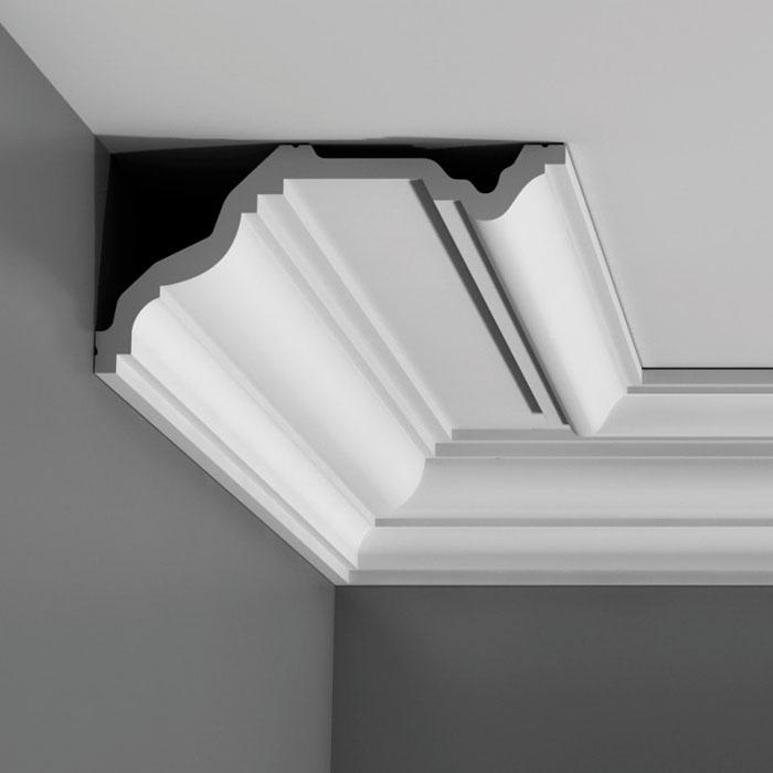 corniche moulure de plafond luxxusorac decor pour deco rail c332. Black Bedroom Furniture Sets. Home Design Ideas