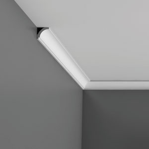 CX115 Corniche plafond Orac Decor Axxent - 3x3cm (h x p) - moulure décorative