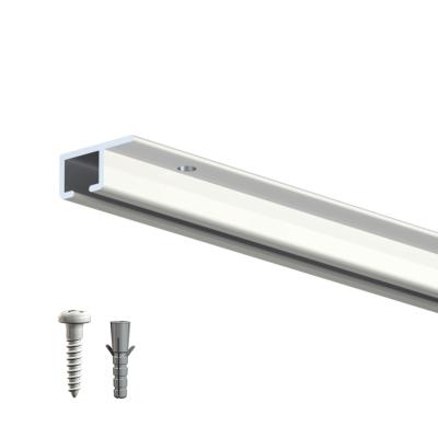 rails cimaise top rail pour un accrochage au plafond de. Black Bedroom Furniture Sets. Home Design Ideas