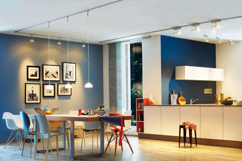 eclairage tableau eclairage sur rail plafond led spot roncalli 11w paulmann. Black Bedroom Furniture Sets. Home Design Ideas