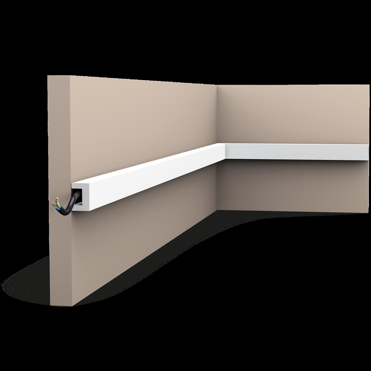 Corniche Polystyrène Pour Led orac - détails sur plinthe maison orac decor sx173f flexible
