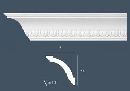 corniche moulure de plafond axxent orac decor pour deco rail cx101. Black Bedroom Furniture Sets. Home Design Ideas