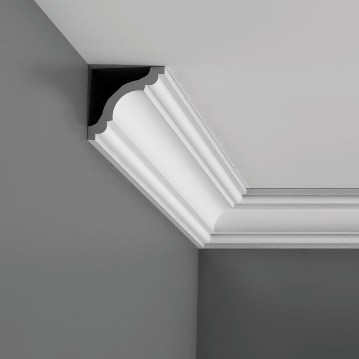 corniche moulure de plafond axxent orac decor pour deco rail cx123. Black Bedroom Furniture Sets. Home Design Ideas