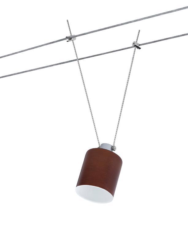 abat jour zyli brun paulmann urail suspension 60006. Black Bedroom Furniture Sets. Home Design Ideas